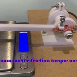 thumb.jpg Download free STL file DIY dynamometer (friction torque meter) using 3D printer • 3D print model, zhhwang