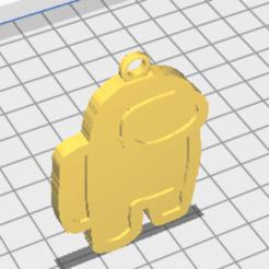 among-us-stl-llavero-3d.png Télécharger fichier STL amog us keychain to paint KEYCHAIN • Modèle à imprimer en 3D, RIHNOTECH3D