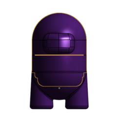 Download STL file GRINDER FIGURE AMONG US | AMONG US • 3D print design, 3DSINGS