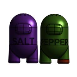 Captura de pantalla 2020-10-09 a la(s) 16.21.18.png Download STL file among us salt and pepper, salt shaker, pepper pot • 3D printer design, RIHNOTECH3D