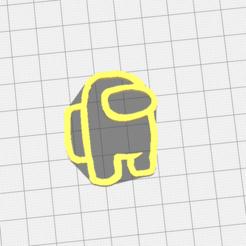 Captura de pantalla 2020-09-16 a la(s) 12.28.29.png Download free STL file among us minimal keychain | minimal keychain • 3D printing template, RIHNOTECH3D