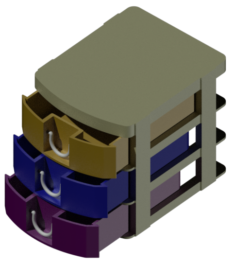 04.png Download STL file Stackable drawer • 3D printable model, IDEXECT