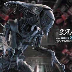 1.jpg Download STL file Alien Queen • 3D printer template, anonymous-9a35a73a-dbd2-46c1-a842-ecad411f58fe