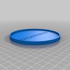 6e7fa9e9dbb4772c73fd6531b133f342.png Download free STL file My Customized Coaster • 3D printer design, dogankoc