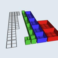 IMG_0187.PNG Télécharger fichier STL Système de stockage • Plan imprimable en 3D, eluna556