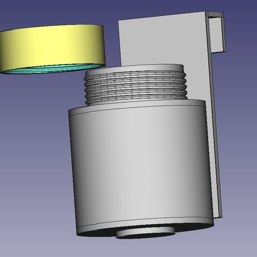 Dispensado de liquido.jpg Download STL file Dispensador de liquido • 3D printing template, marecheaua