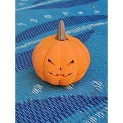 20201009_150428.jpg Download free STL file Halloween Scorpion Pumpkin • 3D printer object, Osichan