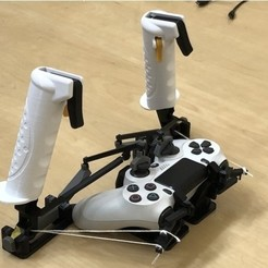 Photo_8.10.2020_23.24.13.jpg Download free STL file Joystick PS4 • 3D print object, Osichan