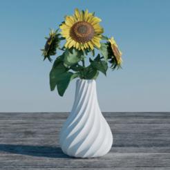 Flower vase Suspiro3.png Download STL file Suspiro Vase • 3D printable design, dustierxd