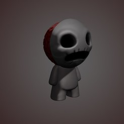 render finished.jpg Download STL file The binding of isaac: Knight • 3D print design, M_Dima
