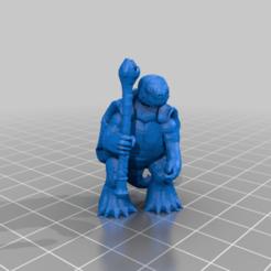 tortuga_mago_remix_1.png Télécharger fichier STL gratuit Tortle Wizard (remix) • Modèle pour imprimante 3D, M_Dima