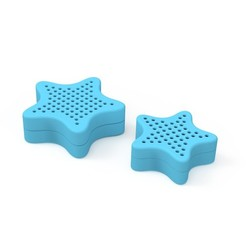 both collapse.8.jpg Download free STL file Towel Weight Container • Template to 3D print, cgbum
