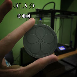 Creast familiar.jpg Télécharger fichier STL Symbole de la famille des samouraïs. • Modèle imprimable en 3D, Josue535