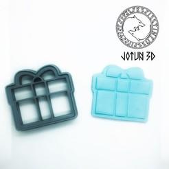 FCB104C3-492B-42A0-A5DF-21DAEF0611CE.jpeg Download STL file Cortadores en Forma de Regalo  • 3D printer model, Josue535