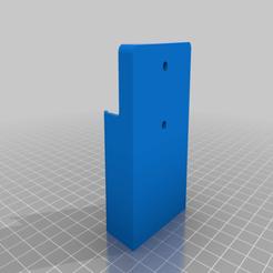 Fan_Remote_Mount.png Télécharger fichier 3MF gratuit Ventilateur de plafond(Kensgrove) support de télécommande support mural • Design pour imprimante 3D, jtninety