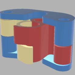 TB Assebmly.png Télécharger fichier STL Loquet mural pour brosse à dents • Modèle pour impression 3D, SplinedDesigns