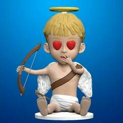 11.jpg Télécharger fichier STL Cupidon. La Saint-Valentin • Plan imprimable en 3D, Shmel