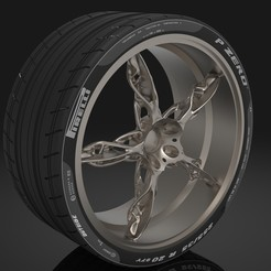 tire.144.jpg Download STL file Racing car wheel • 3D printable model, dimitriskalpakidis