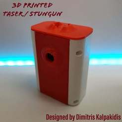 PSX_20200626_163035.jpg Download free STL file Taser / Stun Gun • 3D printable object, dimitriskalpakidis