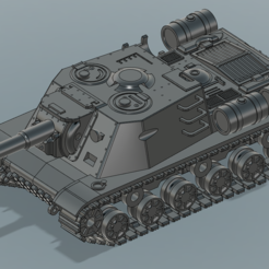 main.PNG Download STL file ISU-152  3Dprint Ready • 3D printer template, yan87design