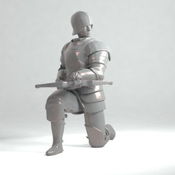 1.jpg Download OBJ file Crossbowman • 3D printer design, SkifX