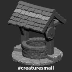 WaterWell_02.jpg Download free STL file WaterWell • Object to 3D print, CreatureSmall