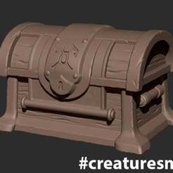 CS_Chest.jpg Download free OBJ file Chest • 3D printable model, CreatureSmall