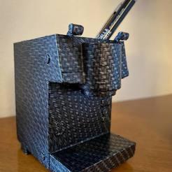 119239986_4099420760072085_7390914647843895072_o.jpg Télécharger fichier STL porte-plume de la machine à café • Objet imprimable en 3D, beltramemarcoluigi