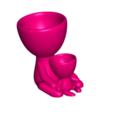 Robert and Hijo _A.png Download free STL file Maceta Robert con hijo / hija - ROBERT PLOT VASE WITH SON / DAUGHTER N ° 112 • 3D print template, PRODUSTL56