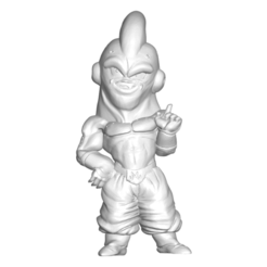 MajinBoo_Fase2_1.png Download free STL file DRAGON BALL Z DBZ / MINIATURE COLLECTIBLE FIGURE DRAGON BALL Z DBZ MAJIN BOO • 3D printing template, PRODUSTL56