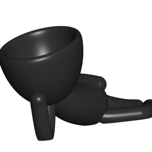 Vaso_10_negro_1.jpg Download free STL file JARRÓN MACETA ROBERT 10 - VASE FLOWERPOT ROBERT 10 • 3D printable object, PRODUSTL56