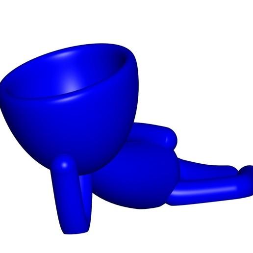 Vaso_10_azul_1.jpg Download free STL file JARRÓN MACETA ROBERT 10 - VASE FLOWERPOT ROBERT 10 • 3D printable object, PRODUSTL56