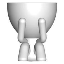 1_blanco_1.png Download free STL file MACETA FLORERO ROBERT PLANT - POT GLASS ROBERT SABIOS NO VE - THE POT GLASS ROBERT SABIOS DOES NOT SEE • Design to 3D print, PRODUSTL56