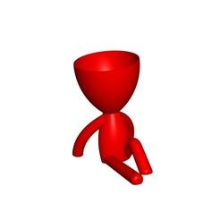 Vaso_102_ROJO_1.jpg Télécharger fichier STL gratuit JARRÓN MACETA ROBERT 102 - VASE POT DE FLEURS ROBERT 102 • Plan pour imprimante 3D, PRODUSTL56