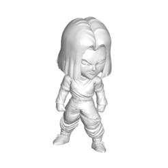 17_1.png Download free STL file MINIATURE COLLECTIVE FIGURE DRAGON BALL Z DBZ / MINIATURE COLLECTIBLE FIGURE DRAGON BALL Z DBZ ANDROID 17 • 3D printer object, PRODUSTL56