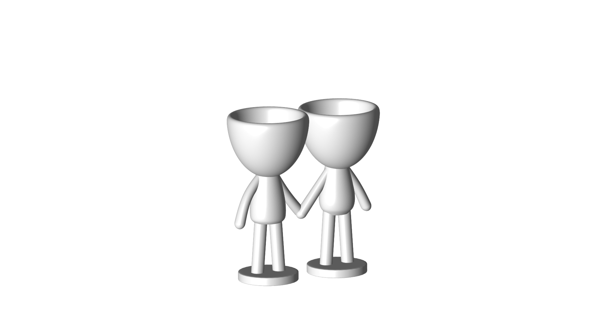 Enamorados_N6_Blanco_1.png Download free STL file N° 6 VASES ROBERT IN LOVE - N° 6 VASE 8 FLOWERPOT ROBERT IN LOVE • Template to 3D print, PRODUSTL56