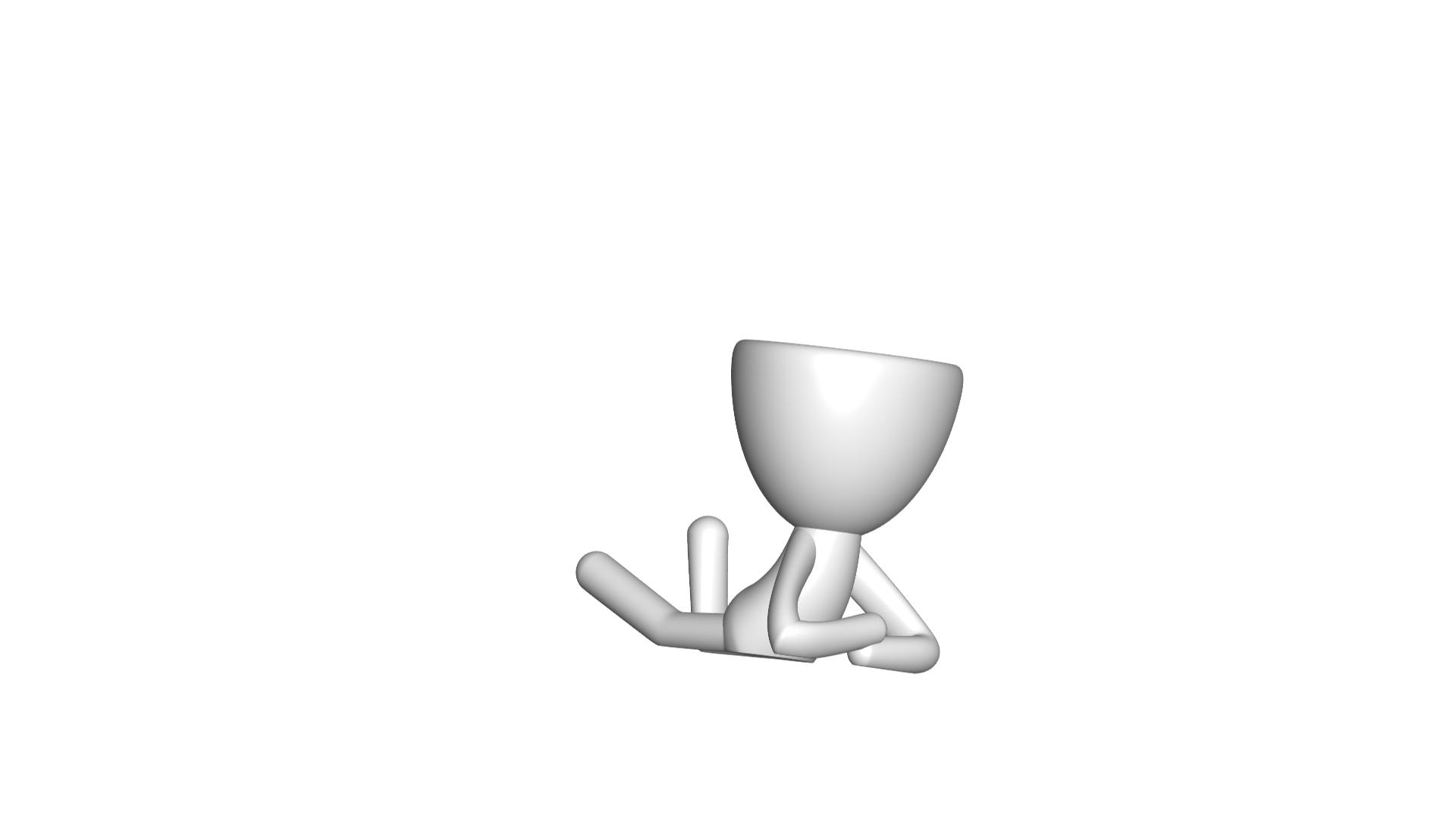 Vaso_02_Blanco_1.jpg Download free STL file JARRÓN MACETA ROBERT 02 - VASE FLOWERPOT ROBERT 02 • 3D print model, PRODUSTL56
