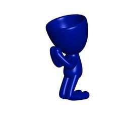 Vaso_09_1.jpg Télécharger fichier STL gratuit REZANDO AGRADECIENDO JARRÓN MACETA ROBERT 09 - VASE DE REMERCIEMENT VASE DE PRIÈRE POT DE FLEURS ROBERT 09 • Objet pour impression 3D, PRODUSTL56