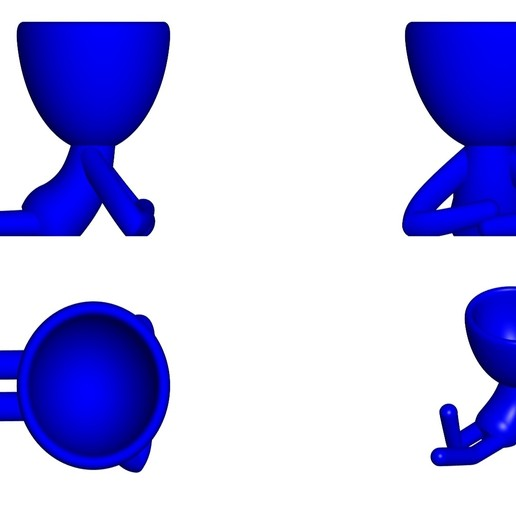 Vaso_02_AZUL_2.jpg Download free STL file JARRÓN MACETA ROBERT 02 - VASE FLOWERPOT ROBERT 02 • 3D print model, PRODUSTL56