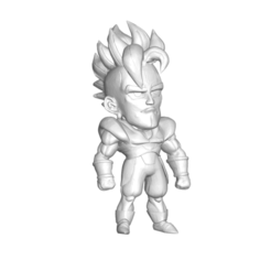 16_1.png Download free STL file FIGURA MINIATURA DE COLECCIÓN DRAGON BALL Z DBZ / MINIATURE COLLECTIBLE FIGURE DRAGON BALL Z DBZ ANDROID 16 • 3D printable design, PRODUSTL56