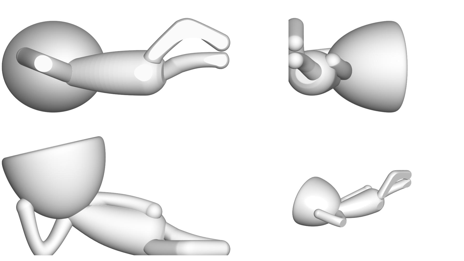 Vaso_10_Blanco_2.jpg Download free STL file JARRÓN MACETA ROBERT 10 - VASE FLOWERPOT ROBERT 10 • 3D printable object, PRODUSTL56