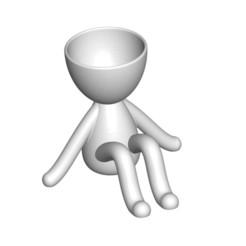 Vaso_106_Blanco_1.jpg Télécharger fichier STL gratuit JARRÓN MACETA ROBERT 106 - VASE POT DE FLEURS ROBERT 106 • Modèle pour imprimante 3D, PRODUSTL56