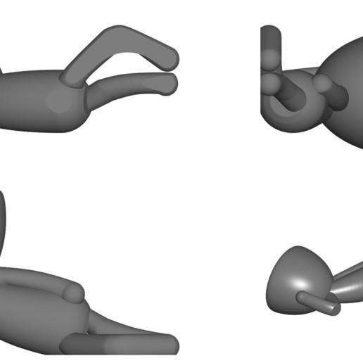 Vaso_10_Gris_2.jpg Download free STL file JARRÓN MACETA ROBERT 10 - VASE FLOWERPOT ROBERT 10 • 3D printable object, PRODUSTL56