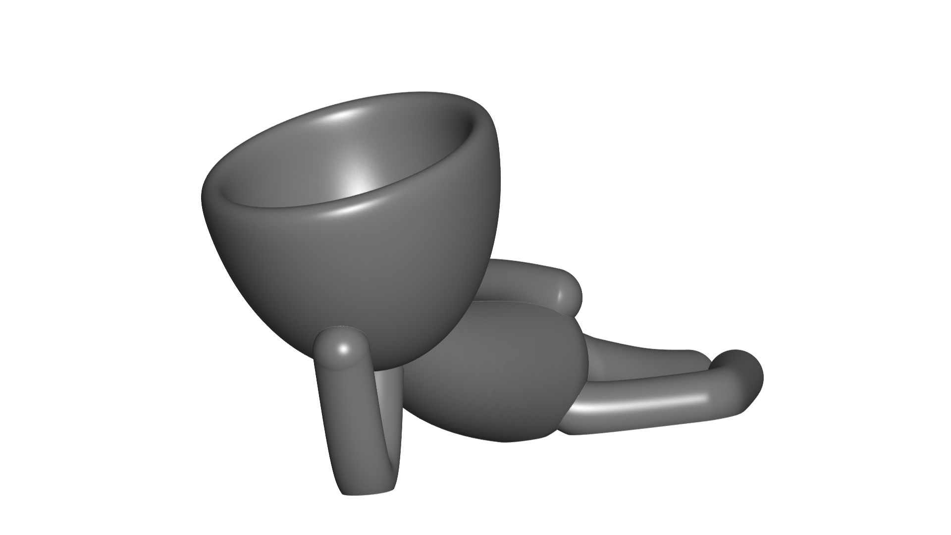Vaso_10_Gris_1.jpg Download free STL file JARRÓN MACETA ROBERT 10 - VASE FLOWERPOT ROBERT 10 • 3D printable object, PRODUSTL56