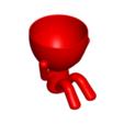 Download free STL file MACETA FLORERO ROBERT PLANT - POT GLASS ROBERT SABIOS DOES NOT LISTEN • 3D printer model, PRODUSTL56