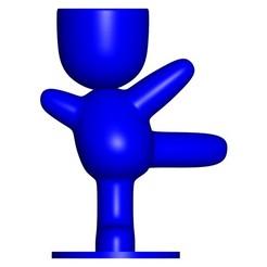 Vaso_100_Azul_1.jpg Télécharger fichier STL gratuit JARRÓN MACETA ROBERT 100 BALLET - VASE POT DE FLEURS ROBERT 100 BALLET • Objet pour imprimante 3D, PRODUSTL56