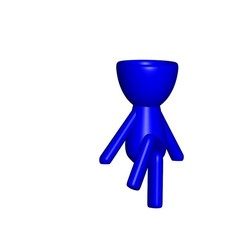 Vaso_07_Azul_1.jpg Télécharger fichier STL gratuit JARRÓN MACETA ROBERT 07 - VASE POT DE FLEURS ROBERT 07 • Modèle pour imprimante 3D, PRODUSTL56
