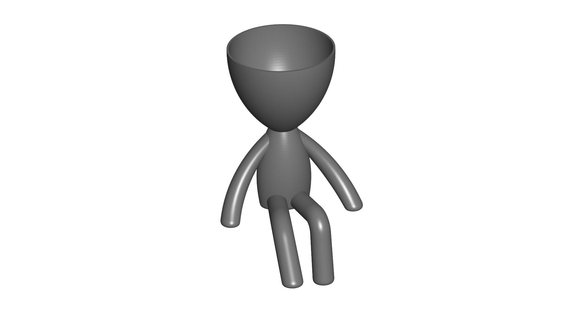 Vaso_105_Gris_1.jpg Download free STL file JARRÓN MACETA ROBERT 105 - VASE FLOWERPOT ROBERT 105 • Model to 3D print, PRODUSTL56