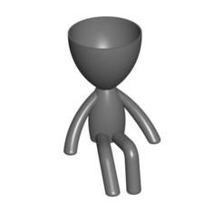 Vaso_105_Gris_1.jpg Télécharger fichier STL gratuit JARRÓN MACETA ROBERT 105 - VASE POT DE FLEURS ROBERT 105 • Objet à imprimer en 3D, PRODUSTL56