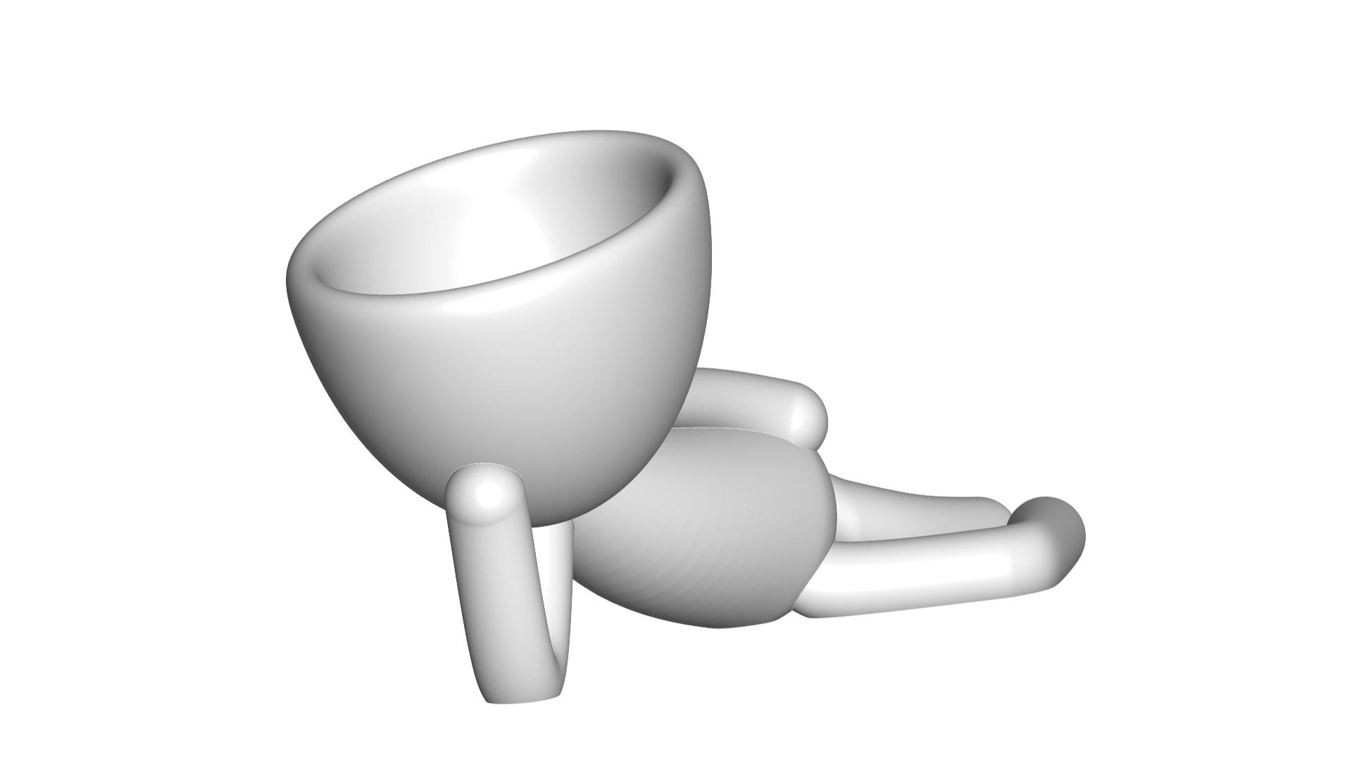 Vaso_10_Blanco_1.jpg Download free STL file JARRÓN MACETA ROBERT 10 - VASE FLOWERPOT ROBERT 10 • 3D printable object, PRODUSTL56